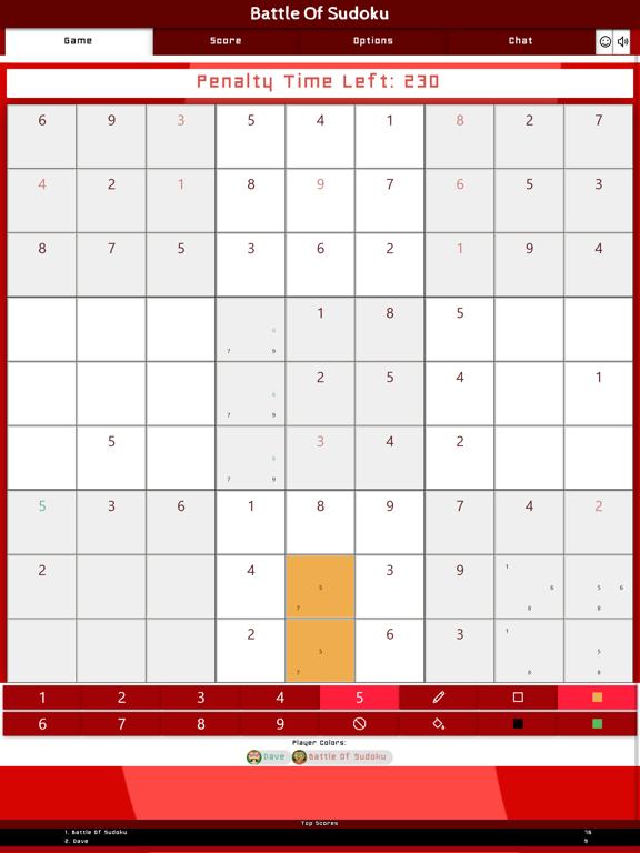 Battle Of Sudoku screenshot 10
