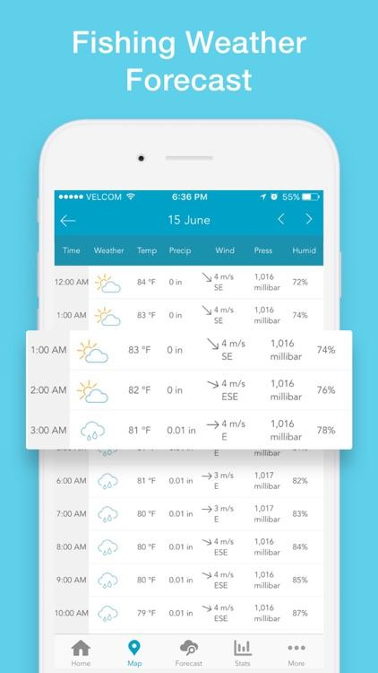 Fishing Forecast App: Fishbox screenshot-8