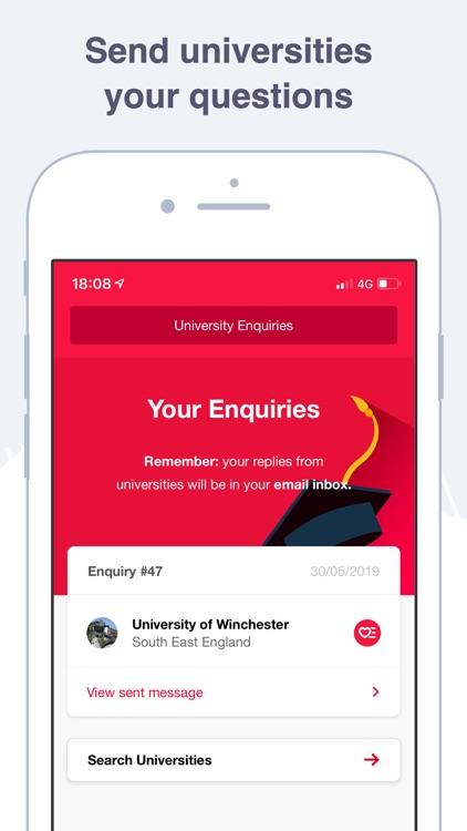 Uni Compare: Degree Courses UK screenshot-5