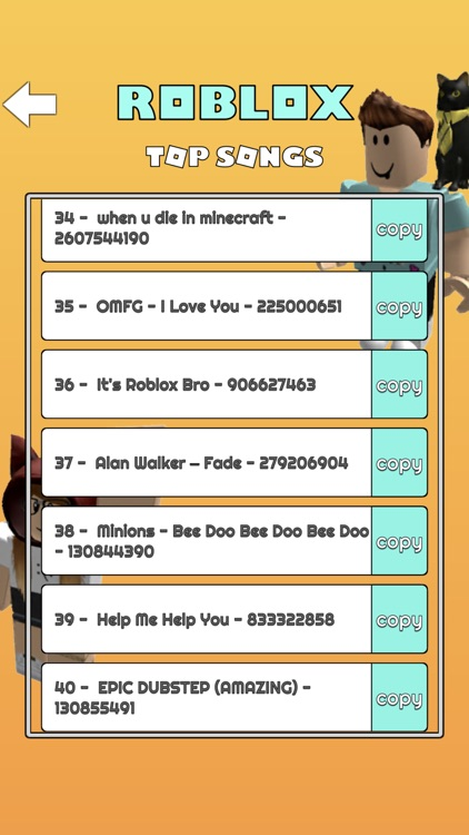 Music Codes for Roblox Robux screenshot-3