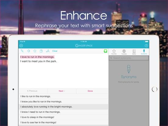 PAGE Grammar Spell Checker Screenshots
