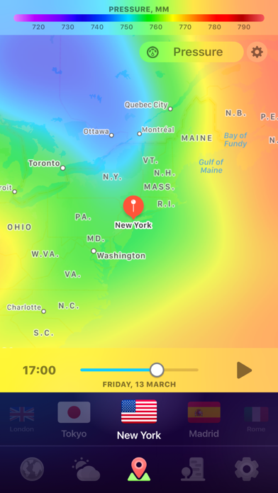 WEATHER NOW ° - daily forecast på PC