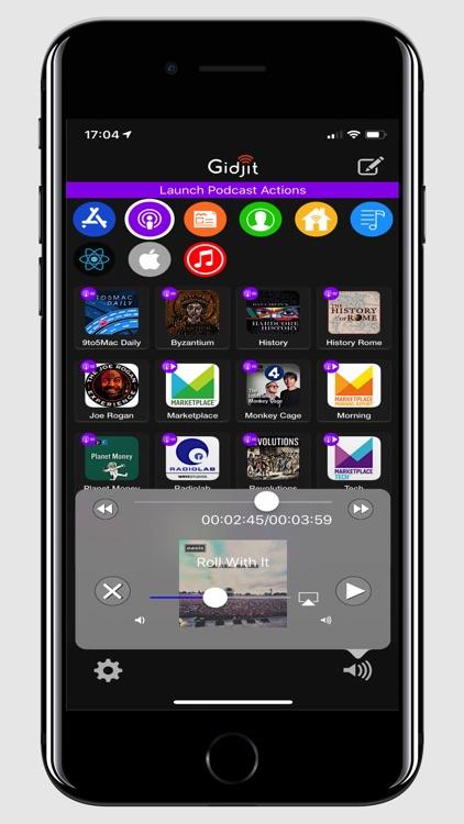 Gidjit - Smart Launcher screenshot-3