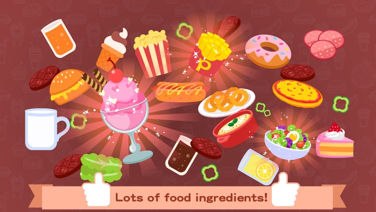 Purple Pink Burger Shop screenshot-3