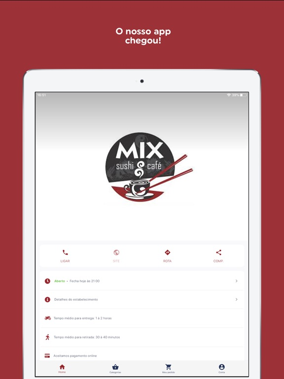 Mix Sushi & Café screenshot 7