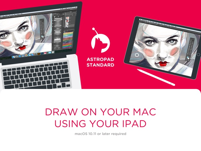 turn ipad into graphics tablet for mac