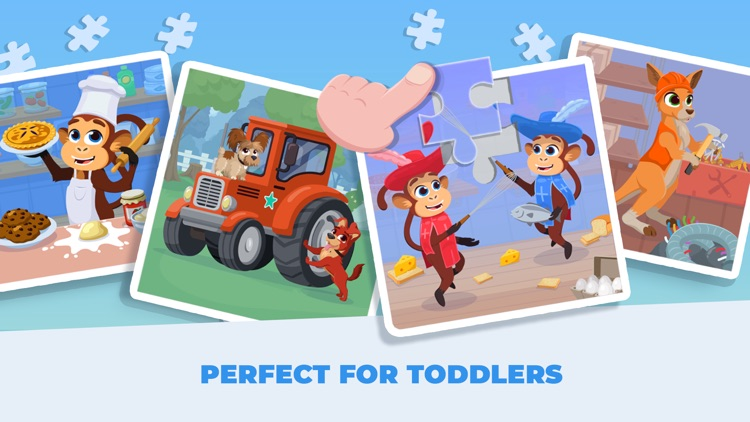 Kids Jigsaw! Puzzles 4 Toddler screenshot-4