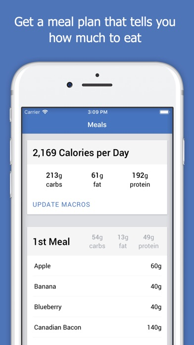 Screenshot for Macro Plan in New Zealand App Store