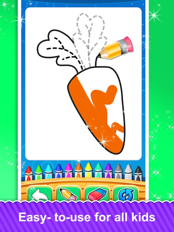 Fruits and Vegetable Coloring screenshot 10