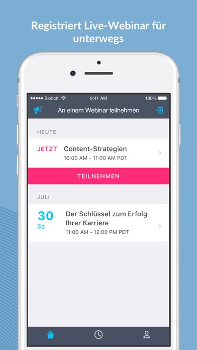 GoToWebinarScreenshot von 1