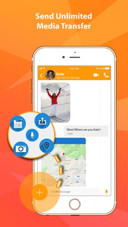 VoipZilla secure messenger screenshot-3