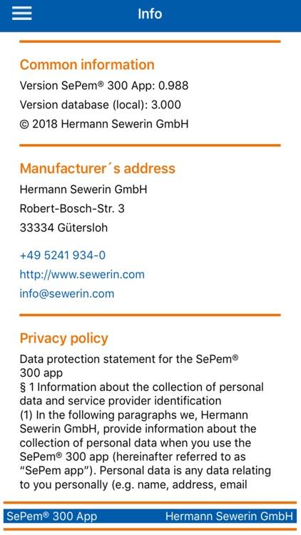 SePem 300 App screenshot-5