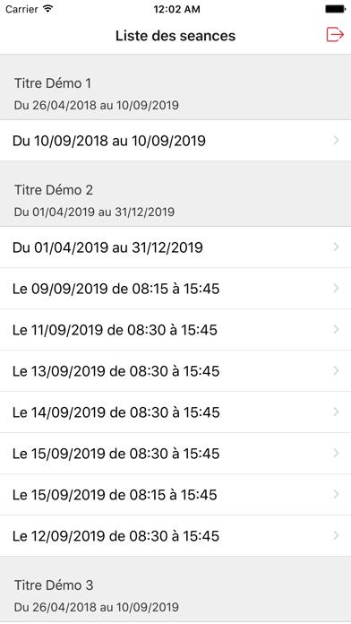 Eticket Guichet screenshot #2
