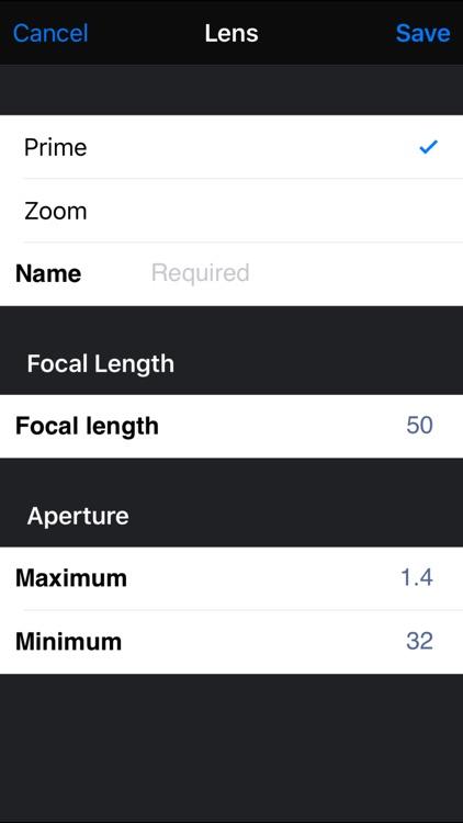Field Tools (Depth of Field) screenshot-3