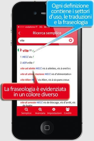 Dizionario Tecnico Francese - náhled