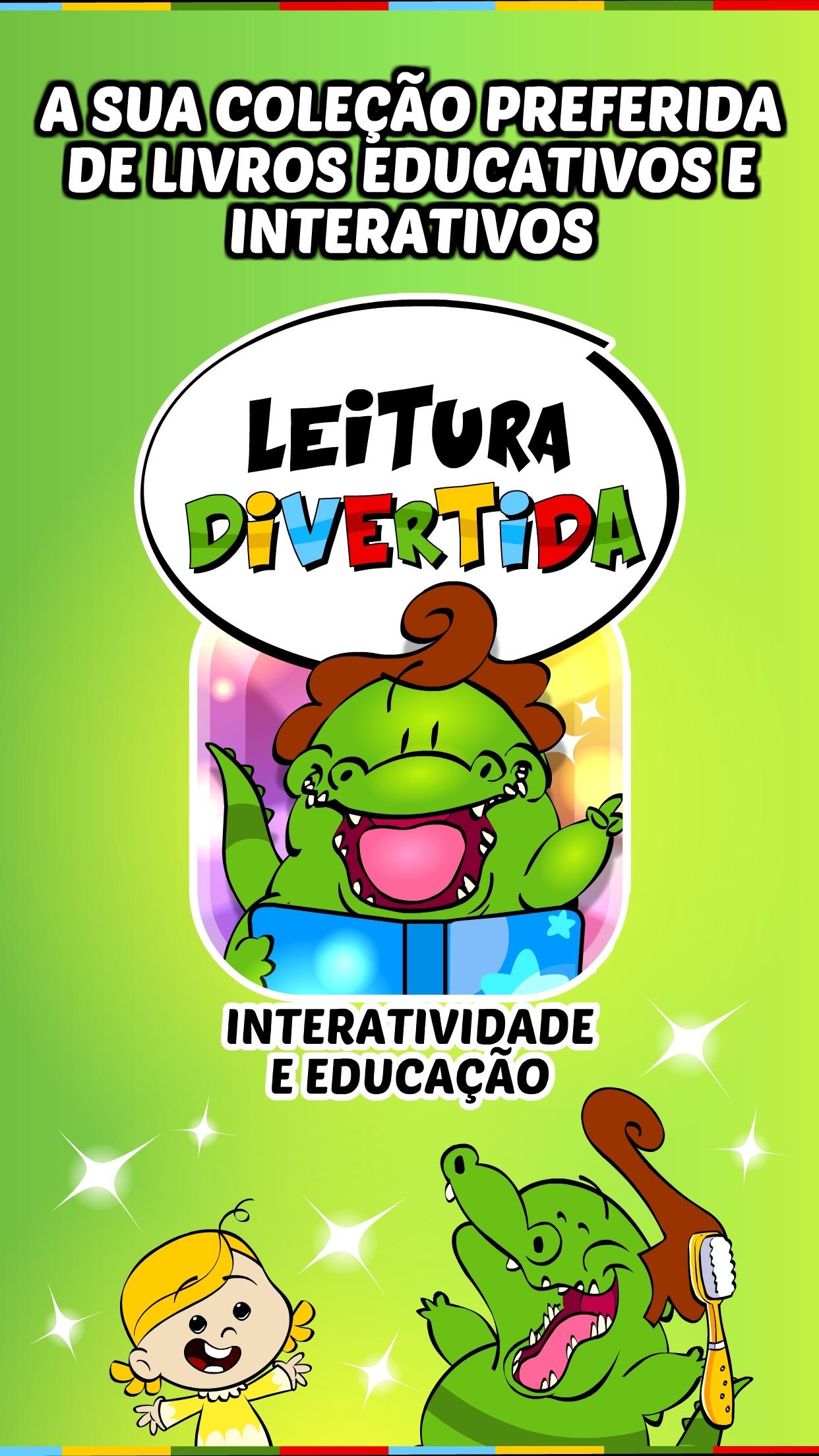 Screenshot do app Livros Infantis do Jacarelvis