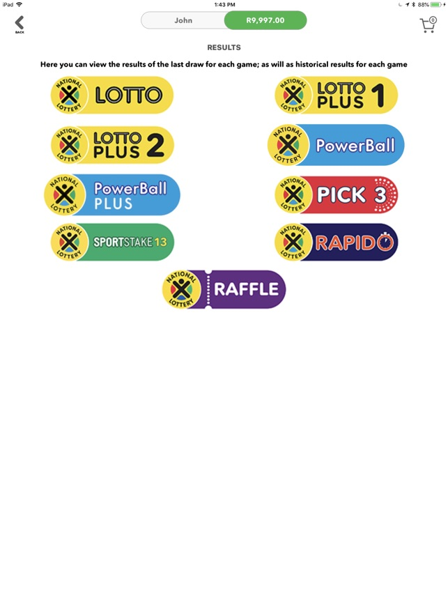SA National Lottery on the App Store