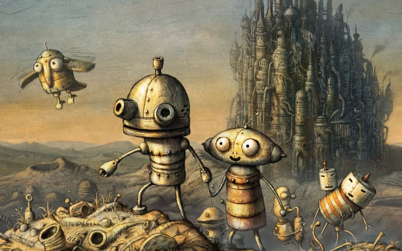 Screenshot Machinarium
