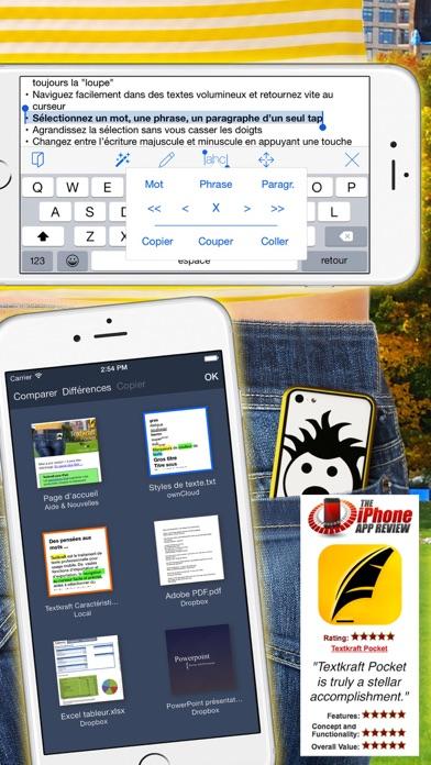 Screenshot #1 pour Textkraft Pocket