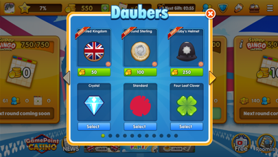 Gamepoint Bingo App