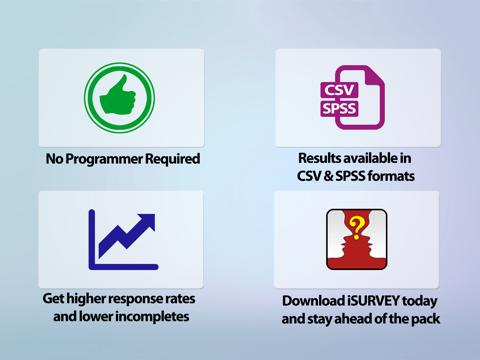 Скриншот из iSURVEY - Offline Survey Forms