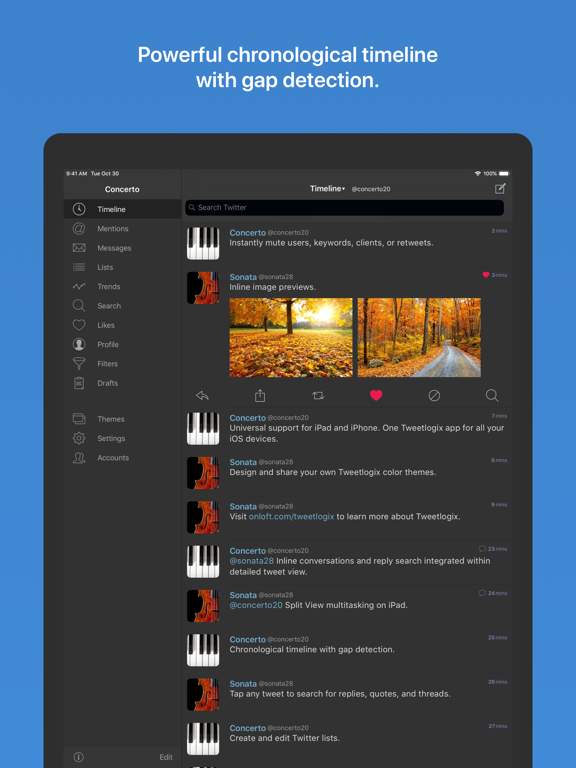 Tweetlogix for Twitter Screenshots