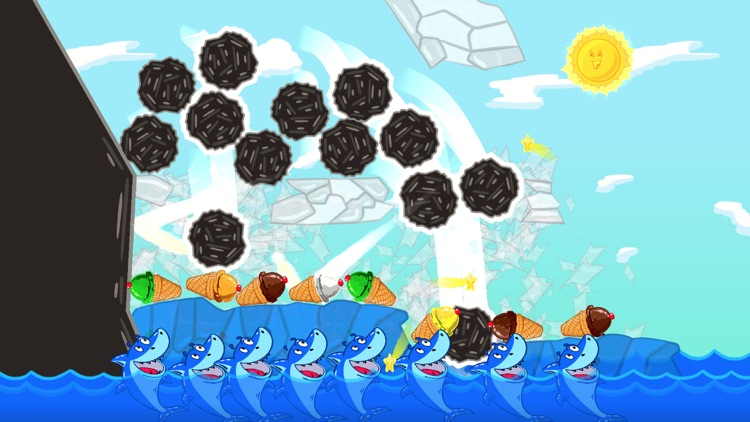 Ice Cream Mixer: Shark Games screenshot-3
