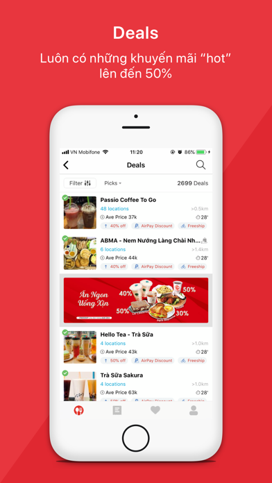 Now.vn - Food Delivery for Windows