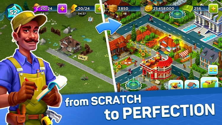 SuperCity: My Town Life Sim screenshot-0