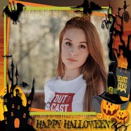 Halloween Photo Frame Creator