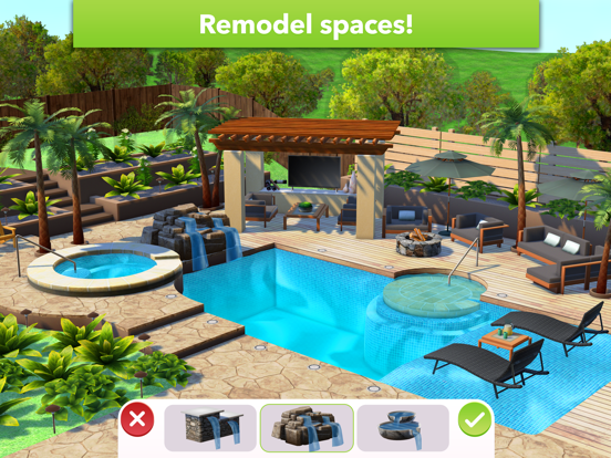 iPad Image of Home Design Makeover
