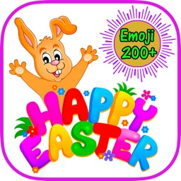 Happy Easter Emoji Stickers