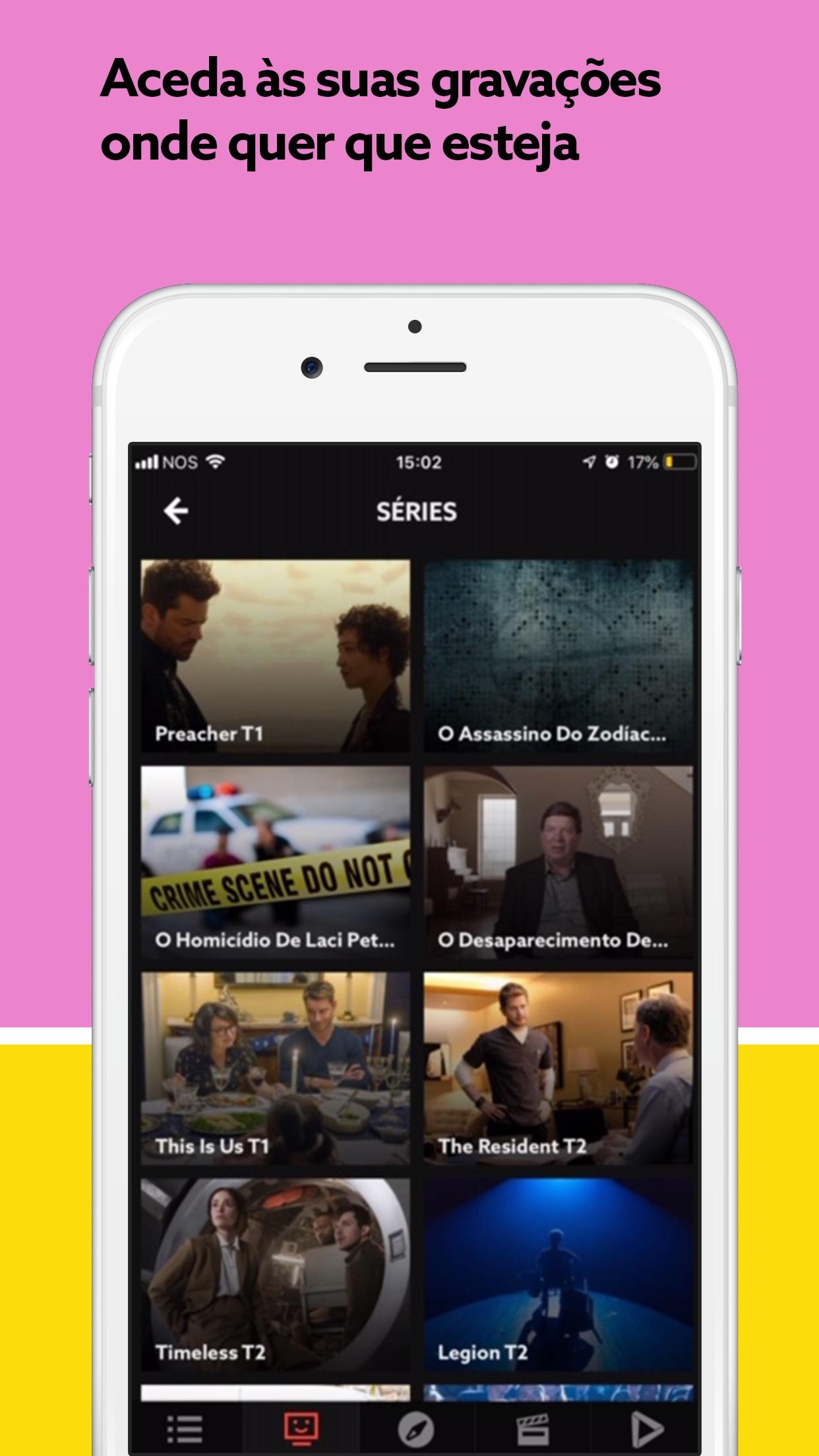 NOS TV Screenshot