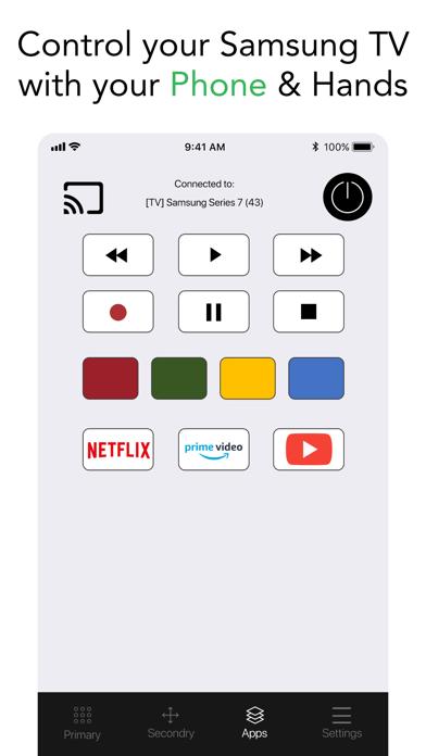 Smart TV Remote for Samsung.のおすすめ画像3