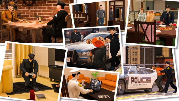 Virtual Police Officer Family