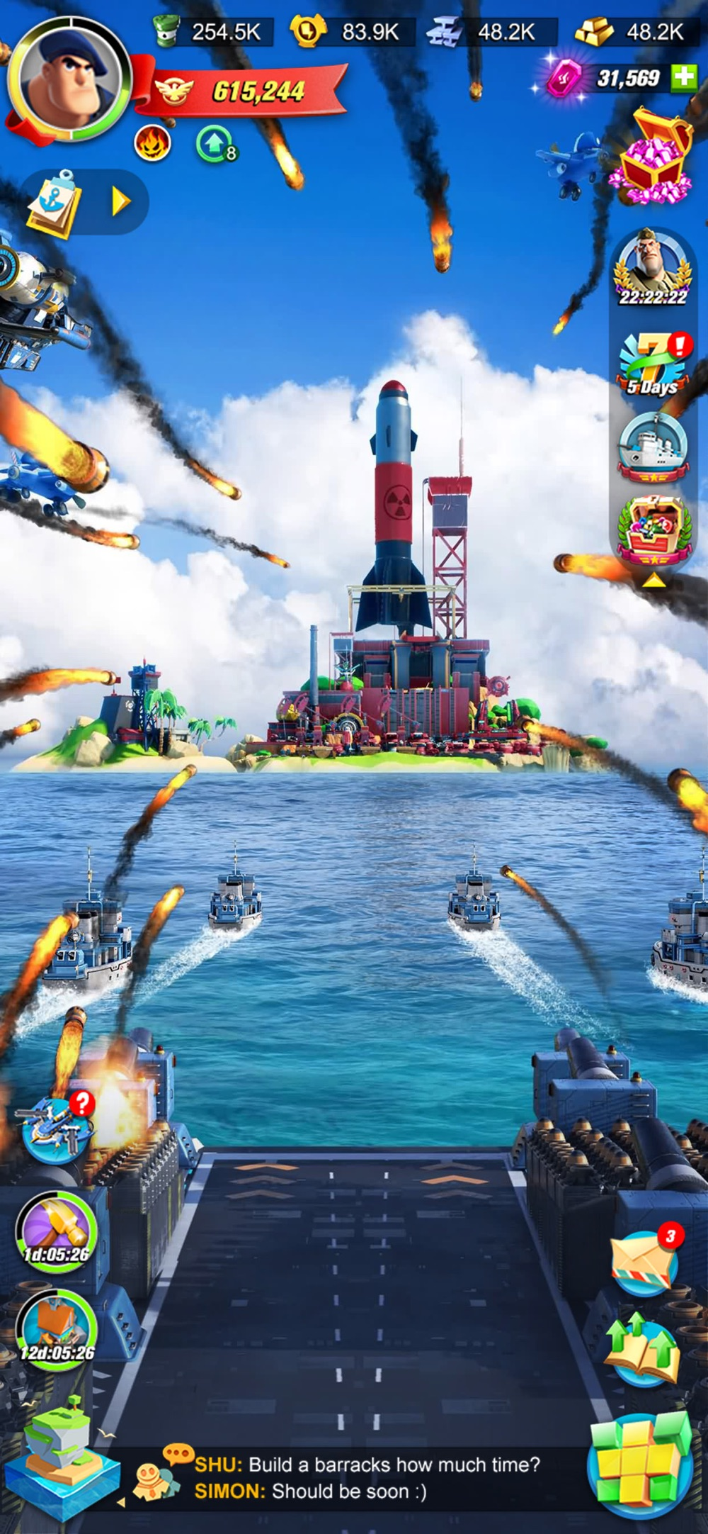 Sea Game: Mega Carrier hack tool