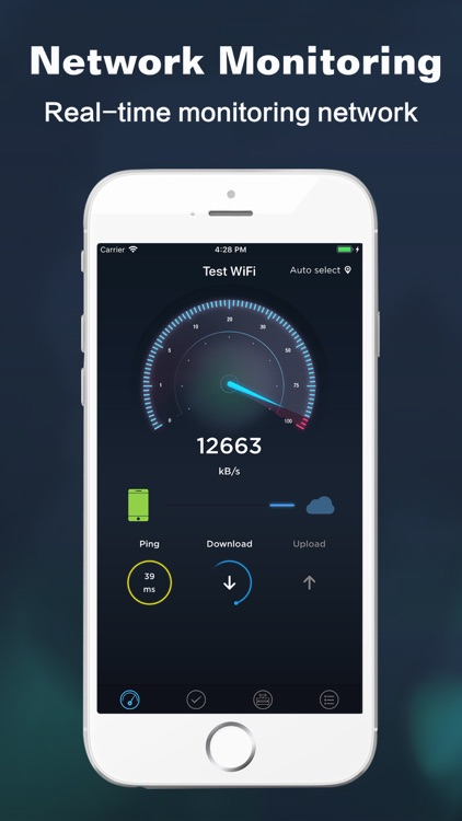 Speed test master - WiFi line