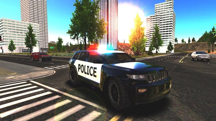 Crime City Police Car Driver screenshot-5