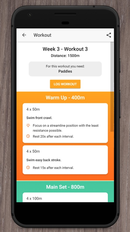 Swim Coach - Swim Workouts screenshot-3