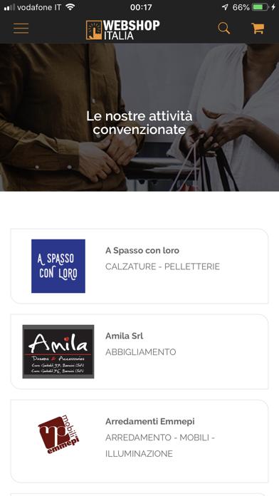 Webshop Italia app image
