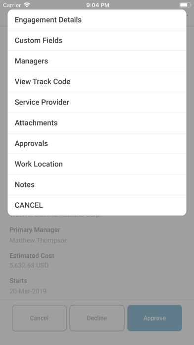 Workforce Logiq MobileScreenshot of 2