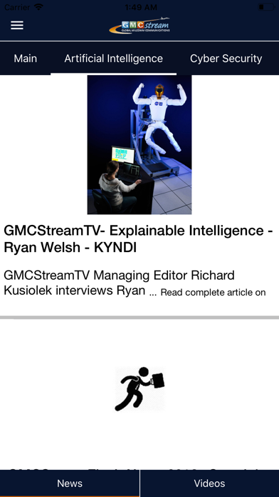 Screenshot for GMCStream in Austria App Store