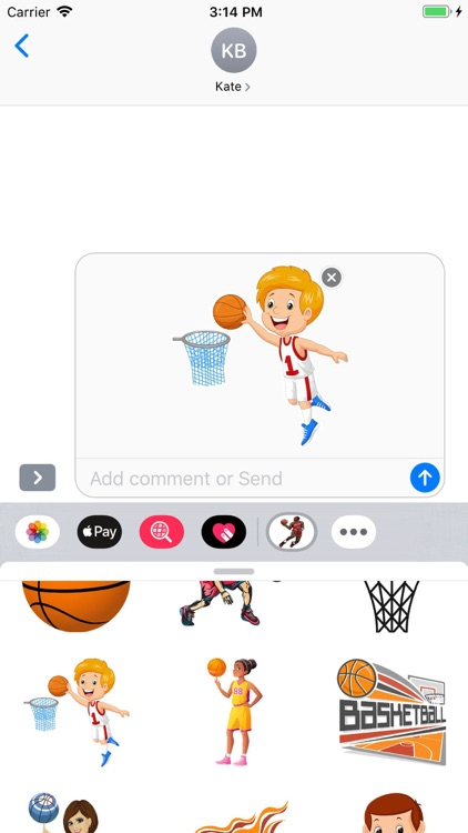 Basketball Stickers Pack screenshot-5