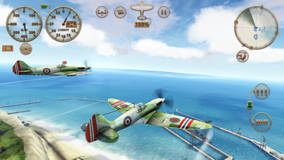 Screenshot from Sky Gamblers: Storm Raiders