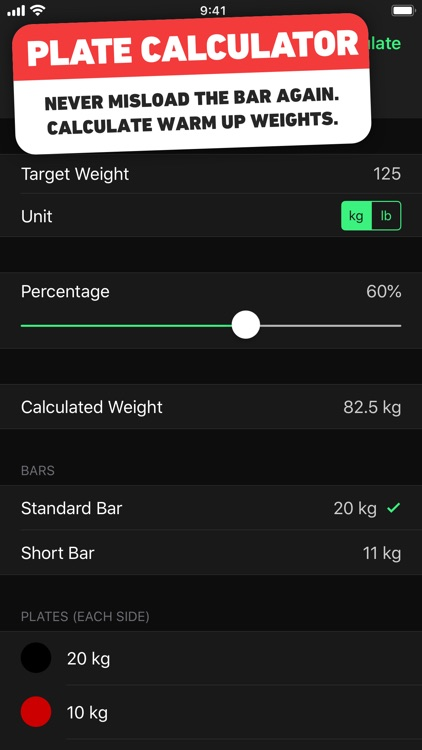 HeavySet - Gym Log Workout screenshot-7