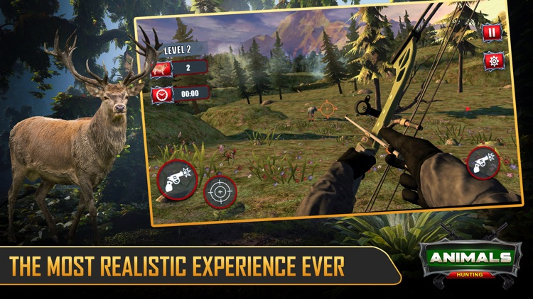 Wild Deer Hunting Games 2021 screenshot-0