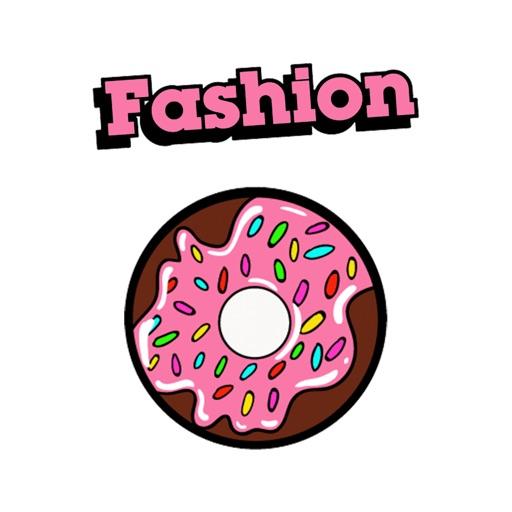 Fashion Donut - GIFs Stickers