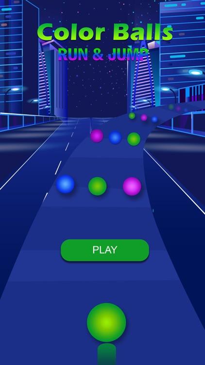 Color Balls Run & Jump screenshot-3