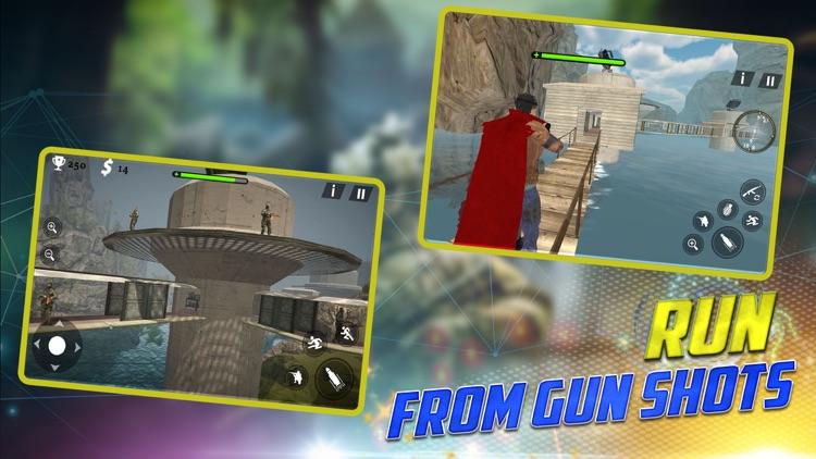 Sniper Man - The War Superhero screenshot-4