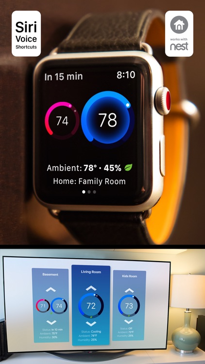 Thermo Watch for Nest screenshot-0